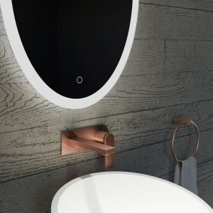 Bathroom Mirror with LED lighting