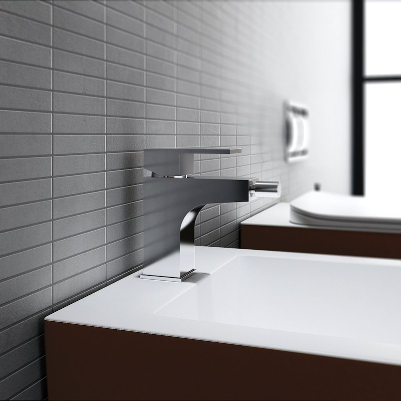 Solid surface wall-hung bidet