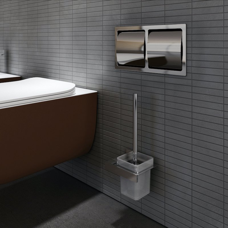 Solid surface wall-hung toilet